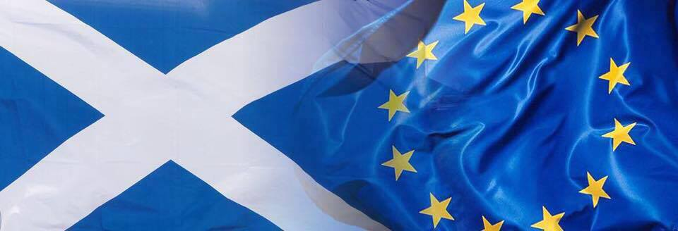 EU Scotland flag